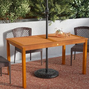 Cadsden Solid Wood Dining Table by Three ..
