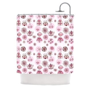 Cute Stuff by Marianna Tankelevich Illustration Single Shower Curtain