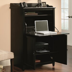 desk armoires you'll love   wayfair