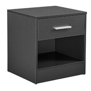 Janetta 1 Drawer Bedside Table By 17 Stories