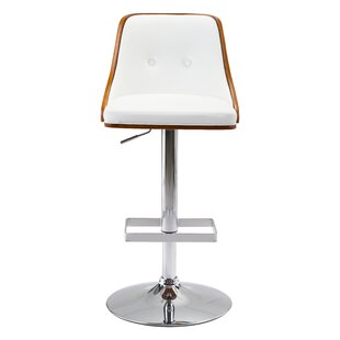 Cinthia Adjustable Height Bar Stool Orren Ellis