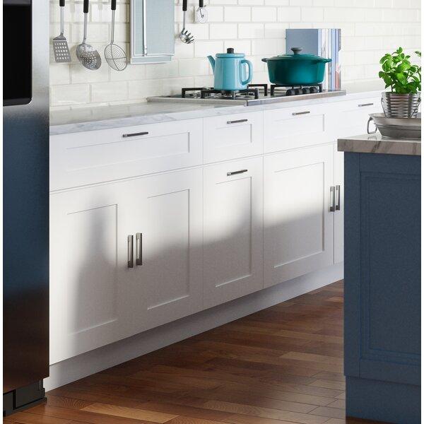 "Ebern Designs Frits Shaker 36"" x 36"" Kitchen Wall Cabinet ..."