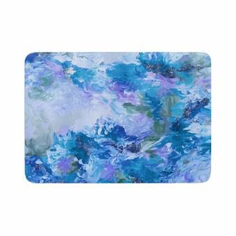 East Urban Home Ebi Emporium When We Were Mermaids 15 Watercolor Memory Foam Bath Rug Wayfair