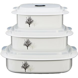 Corelle Coordinates 3 Container Food Storage Set