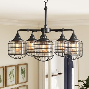 Inexpensive Gaskell 5-Light Shaded Chandelier By Birch Lane™