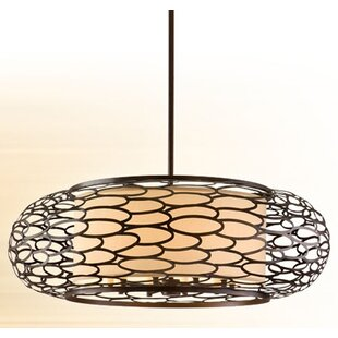 Bloomsbury Market Jordahl 10-Light Drum Pendant