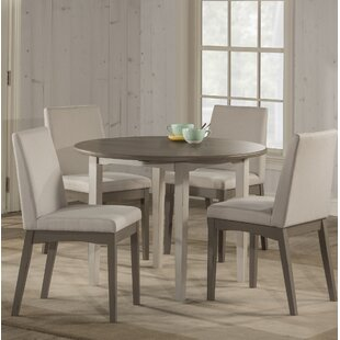 Rosecliff Heights Kinsey Modern 5 Piece Drop Leaf Dining Set