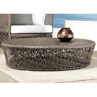 Maldives Round Wicker Coffee Table