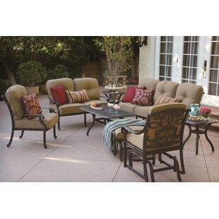 Fleur De Lis Living Calhoun 8 Piece Sofa Set with Cushions