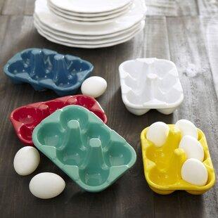 Ceramic Egg Carton by Birch Lane™