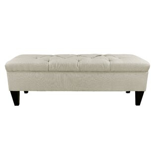 Hobson Upholstered Storage Bench by Darby Home Co