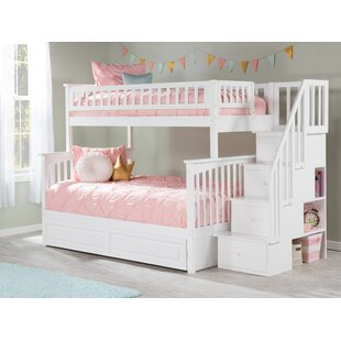 Abel Staircase Bunk Bed with Trundle