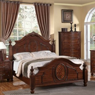 Vadnais Intricately Panel Bed