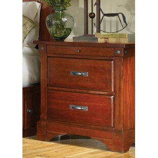 Darby Home Co Barter 2 Drawer Nightstand