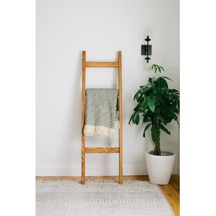 Top Reviews Handmade 5 ft Blanket Ladder By Gracie Oaks