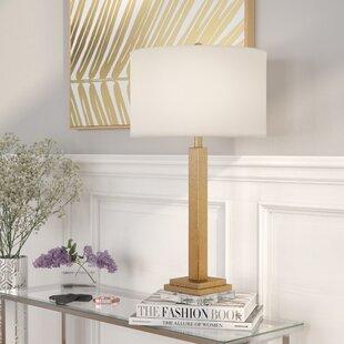 Mathews Crystal Base 30 Table Lamp (Set of 2)