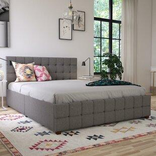 Elizabeth Upholstered Platform Bed With Storage by CosmoLiving Cosmopolitan Reviews
