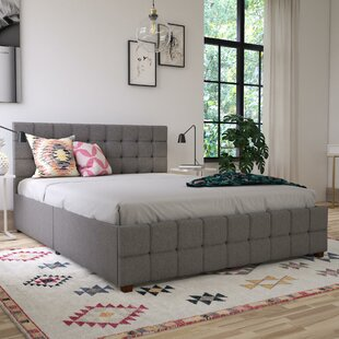 Elizabeth Upholstered Storage Platform Bed by CosmoLiving by Cosmopolitan