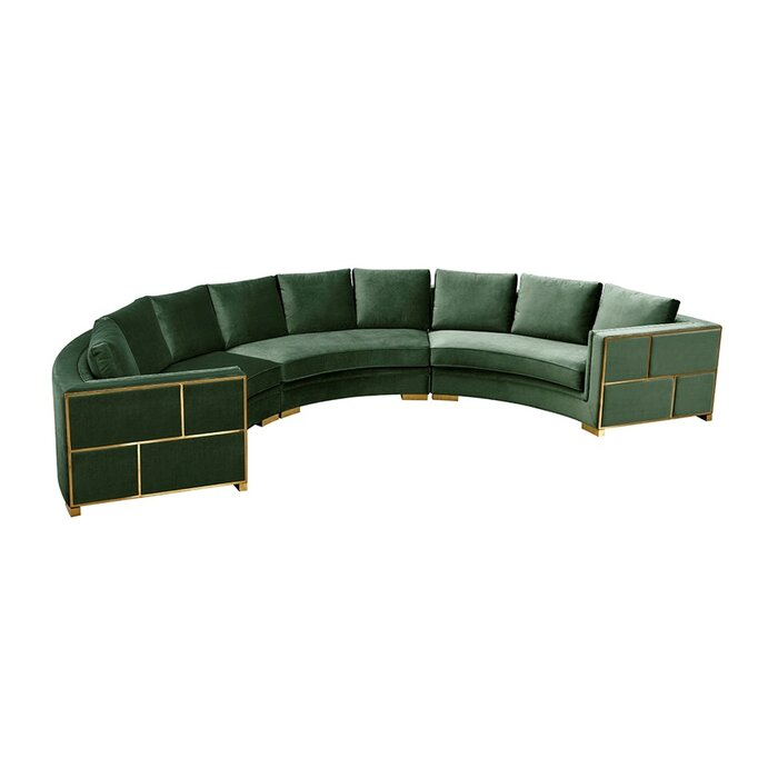 Pooler Symmetrical Modern Curved Sectional