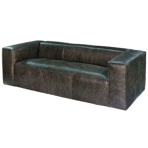 Bauhaus Leather Sofa by Sarreid Ltd