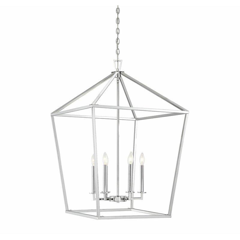 Israel 6-Light Lantern Chandelier