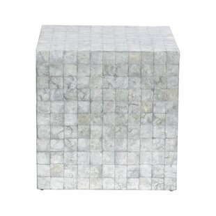 Kelton Capiz Cube End Table