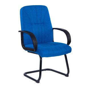 Medium Back Fabric Visitor Chair By Symple Stuff