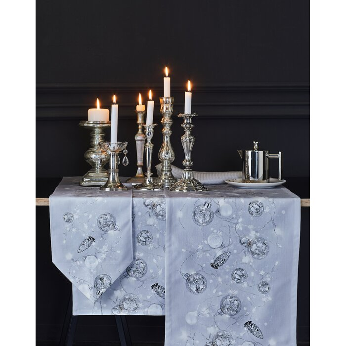 Christmas Table Runner Uk.Christmas Elegance Table Runner