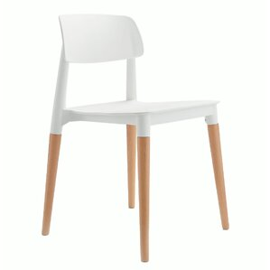 Bel Solid Wood Dining Chair by eModern Decor