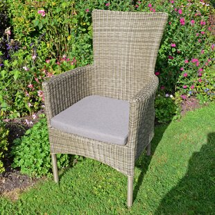 Salinger Stacking Garden Chair With Cushion By Sol 72 Outdoor