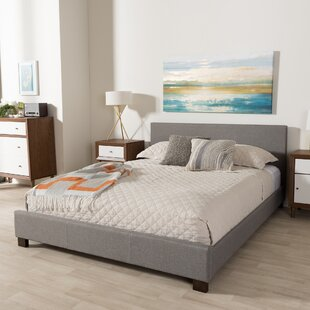 Creager Upholstered Platform Bed by Turn on the Brights
