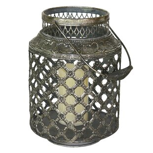 Bungalow Rose Metal Lantern