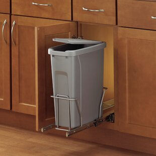 Plastic 5 Gallon Pull Out/Under Counter Trash Can
