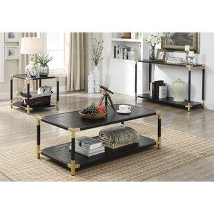 Deals Goodwin 3 Piece Coffee Table Set By Mercer41