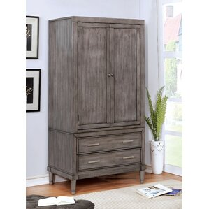 Foxfield Transitional Armoire by Rosecliff Heights