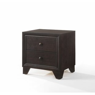 Mair 2 Drawer Nightstand