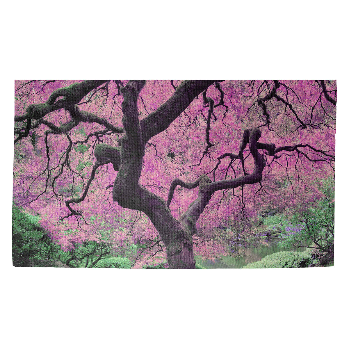 World Menagerie Bourbeau Japanese Tree Indoor Door Mat Wayfair