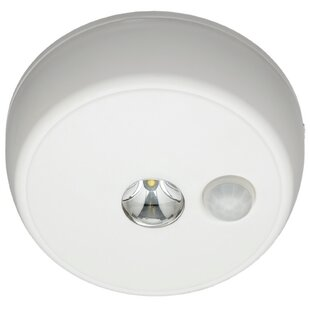 LED Outdoor Flush Mount with Motion Sensor by Mr. Beams