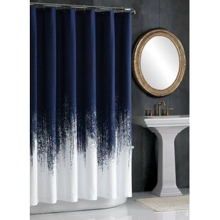 Lyon 100% Cotton Single Shower Curtain By Vince Camuto