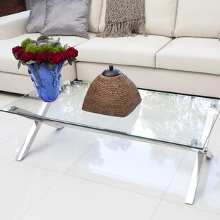 New Style Emiliano Coffee Table by Wade Logan