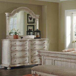 One Allium Way Osullivan 8 Drawer Double Dresser