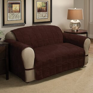 DuVig Box Cushion Loveseat Slipcover