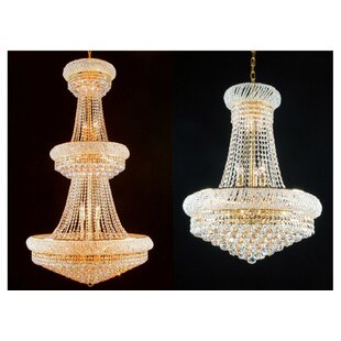 Astoria Grand Litz 2 Piece Empire Chandelier Set