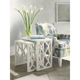 Ivory Key Solid Wood Sled Nesting Tables