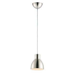 Claus 1-Light Bell Pendant by George Oliver