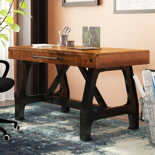 Caseareo Solid Wood Writing Desk by Trent Austin Design