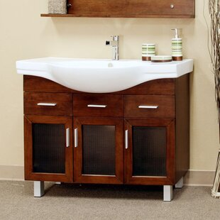 Neufeld 40 Single Bathroom Vanity With Sink by Ebern Designs