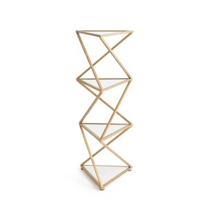 Brisbane Geometric Bookcase by Willa Arlo Interiors 2019 Coupon