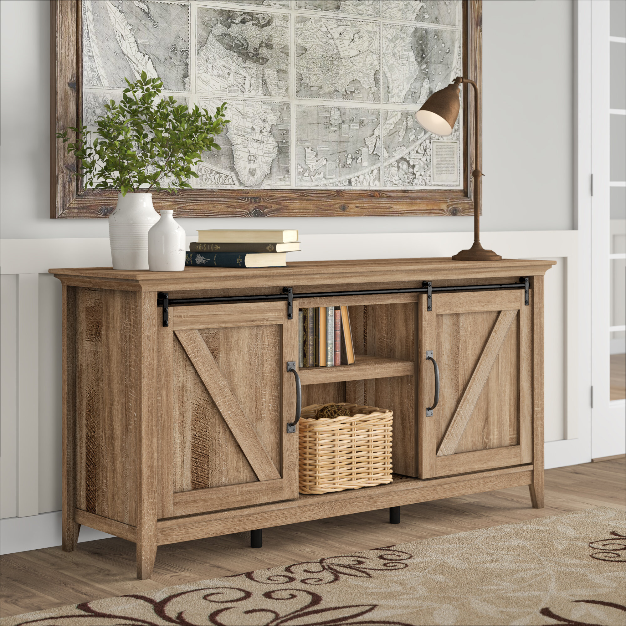 Terrence Tv Stand For Tvs Up To 75 Reviews Birch Lane