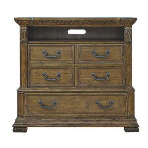 Athens 5 Drawer Media Chest by Astoria..